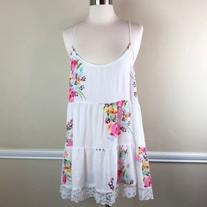 In Bloom floral chemise nightgown
